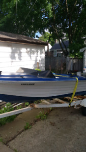 14 foot boat needs work reduced to $700