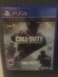 Infinite Warfare for ps4 looking for 40$