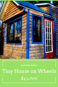 Tiny House on Wheels for Sale!