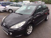 Peugeot 307 1.6 16v S 5dr2007 (07 reg), Hatchback (30 days warranty) £1299