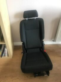 VW caddy new spare folding seat