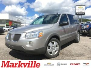 2008 Pontiac Montana SV6 1 OWNER TRADE,CERTIFIED -RECONDITIONED