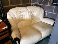 Sofa small leather