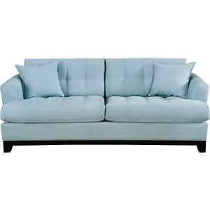 Selling Cindy Crawford Aqua couch. Great shape! Must pick up