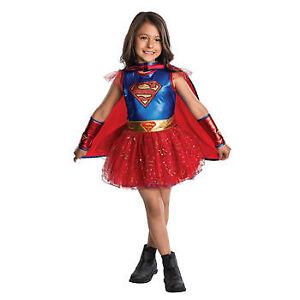NEW: Supergirl Tutu Costume - Small Size 4-6 (3-4 yrs) - $35