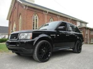 2007 Land Rover Range Rover Sport SUPERCHARGED!! BLACK WHEELS!!
