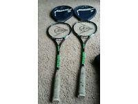 Dunlop squash racquets
