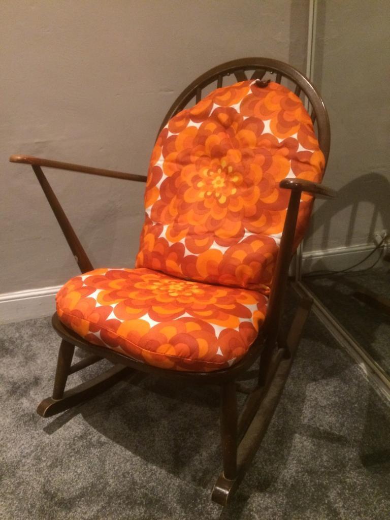 Ercol rocking chair Retro Vintage