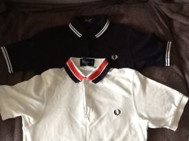 Mens xs Fred Perry polo shirts