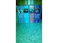 The complete cold feet vhs series tapes 1st, 2nd 3rd& 4th series