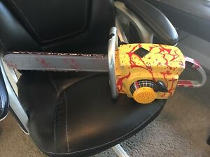 Halloween Prop - Chainsaw with sound and action