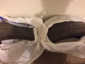 2 tires 205/55r16 at 50%