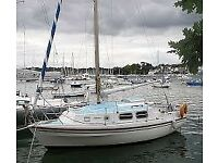 Westerly Pageant 24 Foot Sailing Boat, Complete And Original, Ready For Summer