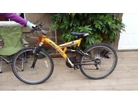 1 x second-hand Falcon Axara mountain bike for sale