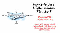 Private Tutor for Physics 20 or 30