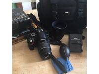Nikon D3200 18-55 VR 2 kit camera