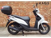 Honda Vision 110cc, In Spotless condition, ONLY 206 MILES!