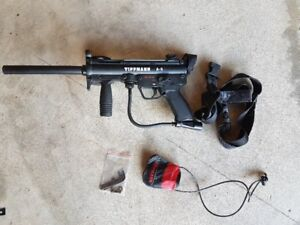 Tippmann a5 egrip with upgrades and gear