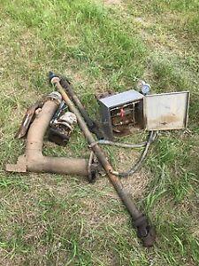 XP2 Pump Pressure Shutdown/ PTO Shafts