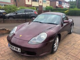 2004 Porsche Boxster 2.7 - two owners, 62K