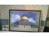 Wooden Dome Of The Rock Picture Frame