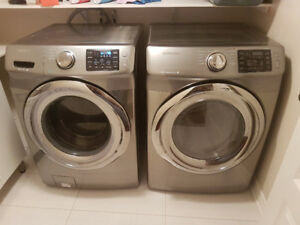 Samsung Washer + Dryer WITH WARRANTY!! MINT CONDITION
