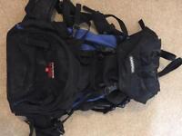 Karrimor travelling backpack