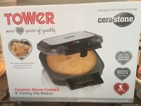 Brand New Boxed Tower Large Pie Maker