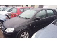 Vauxhall Corsa 1.2I 16V ENERGY (black) 2004