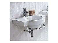 CUBA Bathroom Sink & Towel Rail (RRP £450)