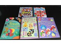 Children's art & craft books things to make & do science, making cards & art attack