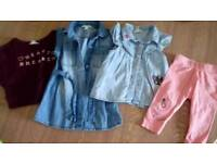 River Island baby girls clothes age 0-3mth