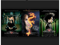 The Girl with the dragon tattoo TRILOGY - BLU-RAYS (3 films)