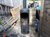 patio heater /log burner