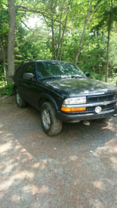 99 blazer 4x4 2 door trade for dirtbike