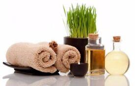 Professional massage therapist with range variety