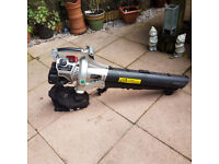 spear and jackson petrol garden vac and blower