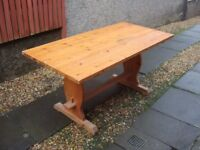 Solid Pine Kitchen/Dining Table