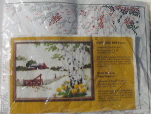 Birch Hill Farm embroidery kit