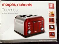 Morphy Richards 4 Slice Wide Slot Toaster