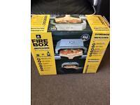 Brand new fire box BBQ pizza oven