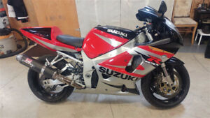 GSXR 750 Full exhaust and Power Commander