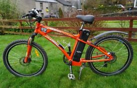Used 2014 Freego Martin Sport electric bike. 20ah battery. Up to 100 mile range