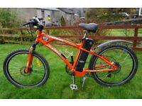 Used 2014 Freego Martin Sport electric bike. 20ah battery. Up to 100 mile range