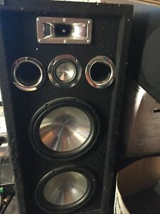 Awesome huge sound speakers!