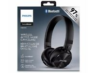 Brand New Boxed Philips Wireless Noise-Cancelling Bluetooth Headphones