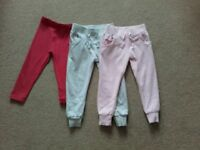 Girl's trousers age 3 years