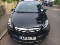 Vauxhall Corsa 2014 ecoFLEX 1.0 Excite 5dr - Black - Full Service History