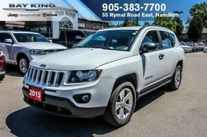 2015 Jeep Compass SPORT, 6 SPEED, AUTO, A/C