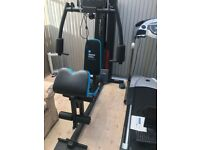 Multi Gym with leg press and treadmill